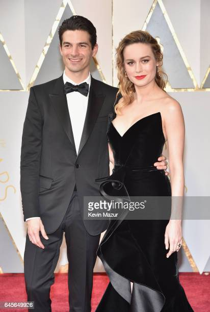Actor Brie Larson and Alex Greenwald attend the 89th Annual Academy Awards at Hollywood Highland Center on February 26 2017 in Hollywood California