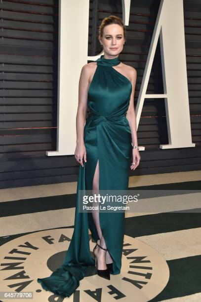 Actor Brie Larson attends the 2017 Vanity Fair Oscar Party hosted by Graydon Carter at Wallis Annenberg Center for the Performing Arts on February 26...