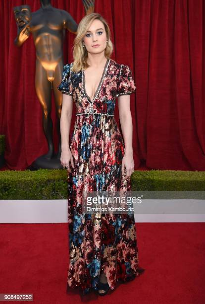 Actor Brie Larson attends the 24th Annual Screen Actors Guild Awards at The Shrine Auditorium on January 21 2018 in Los Angeles California 27522_009