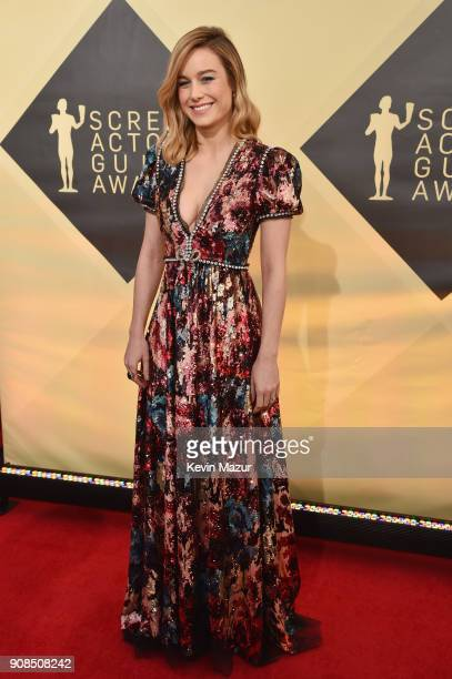 Actor Brie Larson attends the 24th Annual Screen Actors Guild Awards at The Shrine Auditorium on January 21 2018 in Los Angeles California 27522_007