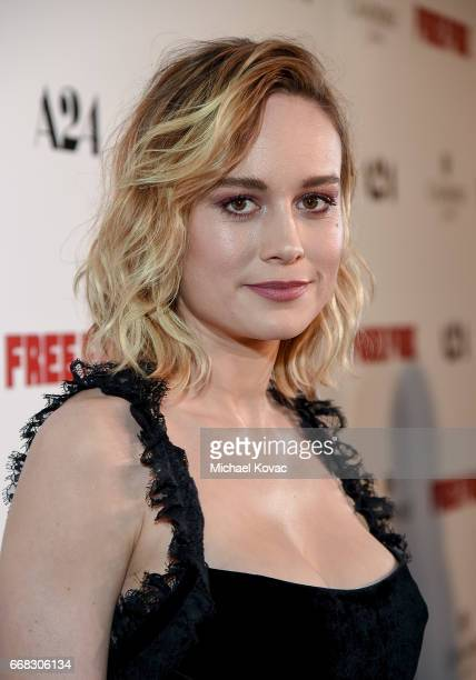 Actor Brie Larson attends The Los Angeles Premiere Of 'Free Fire' Presented By Casa Noble Tequila on April 13 2017 in Los Angeles California