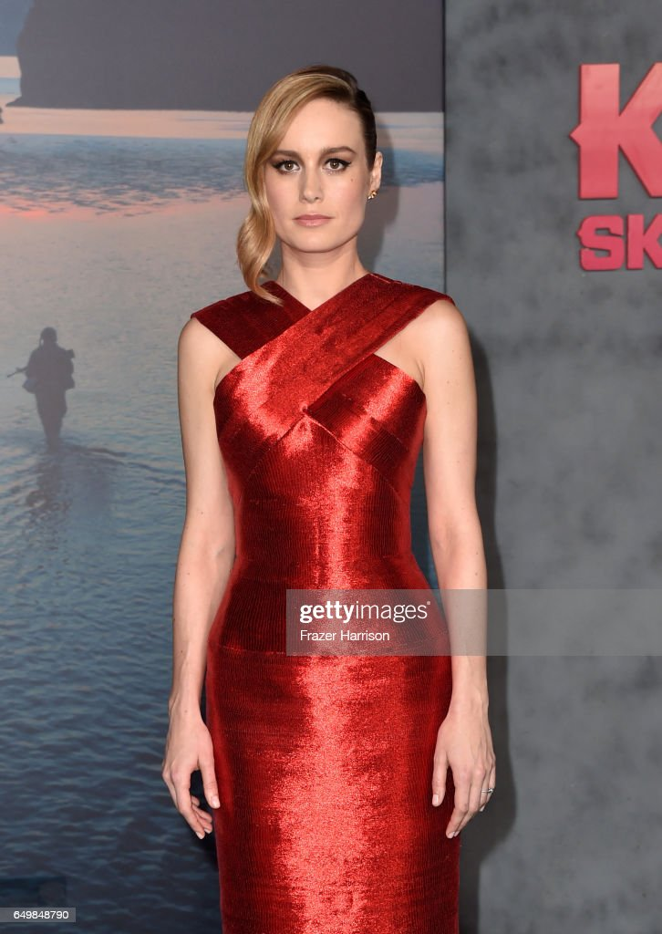Actor Brie Larson attends the premiere of Warner Bros. Pictures' 'Kong: Skull Island' at Dolby Theatre on March 8, 2017 in Hollywood, California.