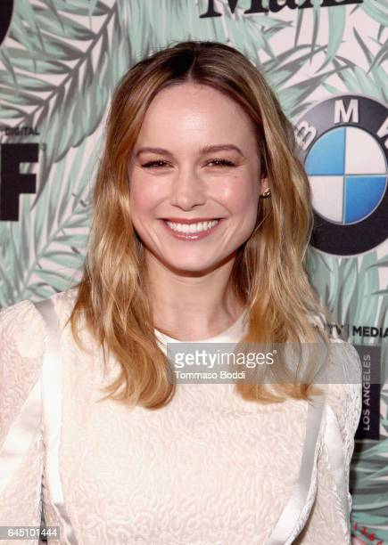 Actor Brie Larson attends the tenth annual Women in Film PreOscar Cocktail Party presented by Max Mara and BMW at Nightingale Plaza on February 24...