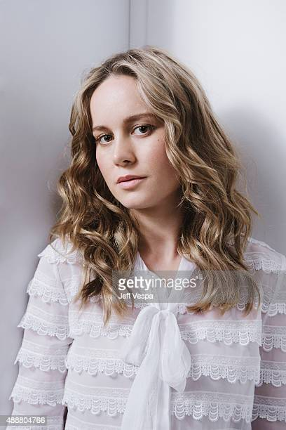 Actor Brie Larson of 'Room' poses for a portrait at the 2015 Toronto Film Festival at the TIFF Bell Lightbox on September 15 2015 in Toronto Ontario