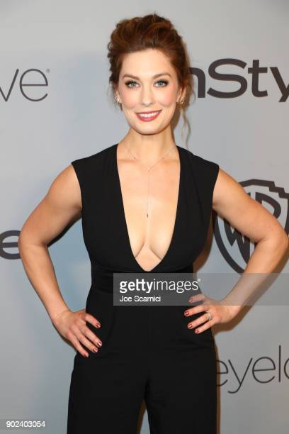 Actor Briga Heelan attends the 2018 InStyle and Warner Bros 75th Annual Golden Globe Awards PostParty at The Beverly Hilton Hotel on January 7 2018...