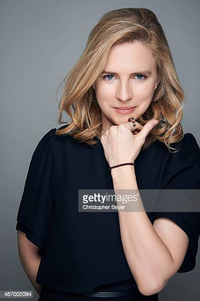 Actor Brit Marling is photographed for Entertainment Weekly Magazine on January 25 2014 in Park City Utah