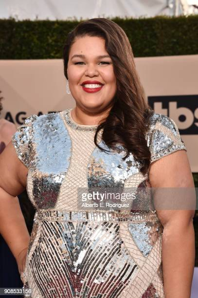 Actor Britney Young attends the 24th Annual Screen Actors Guild Awards at The Shrine Auditorium on January 21 2018 in Los Angeles California 27522_006