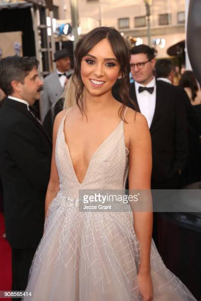 Actor Britt Baron attends the 24th Annual Screen ActorsGuild Awards at The Shrine Auditorium on January 21 2018 in Los Angeles California