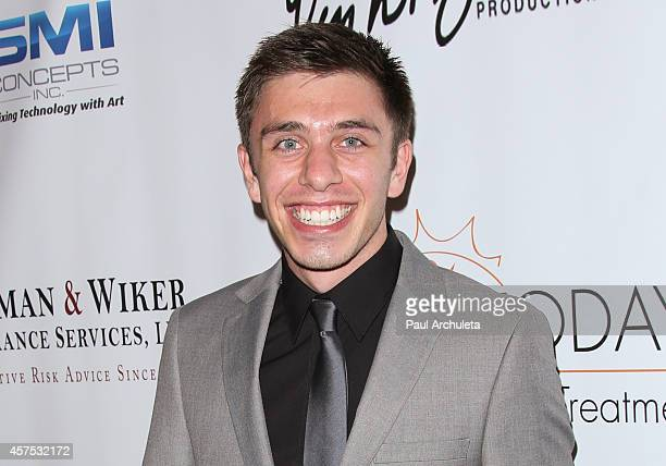 Actor Brock Ciarlelli attends the 9th annual Denim Diamonds for Autism on October 19 2014 in Westlake Village California