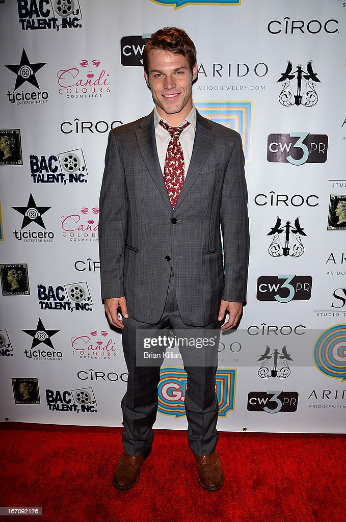 Actor Brock Harris attends the screening of 'G.B.F.' during the 2013 Tribeca Film Festival at Studio XXI on April 19, 2013 in New York City.