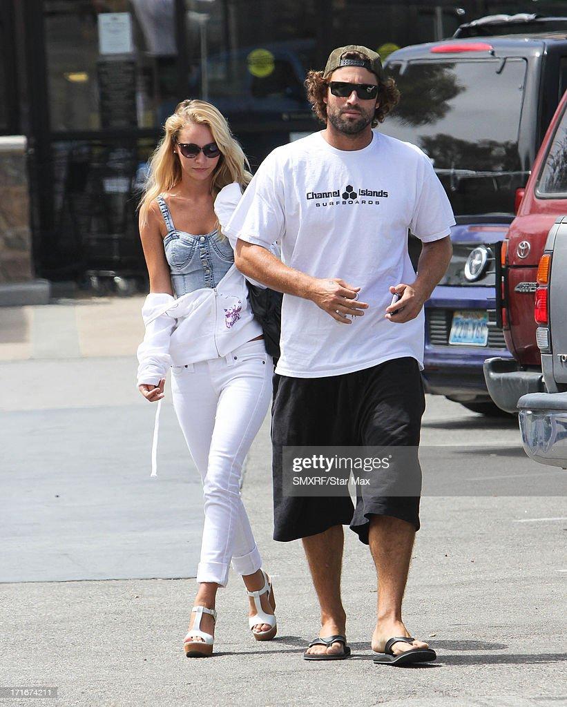 Celebrity Sightings In Los Angeles - June 27, 2013 : News Photo