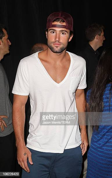 Actor Brody Jenner attends DIRECTV's Championship Gaming Series kick off party for the world final series at Barker Hanger on July 15 2008 in Santa...