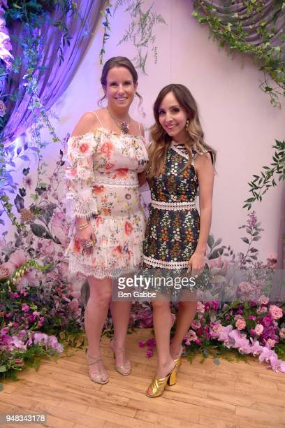 Actor Bronwen Smith and Author Liliana Vazques attend an Enchanted Evening with RHONY's Carole Radziwill and the TODAY Show's Lilliana Vazquez Hosted...