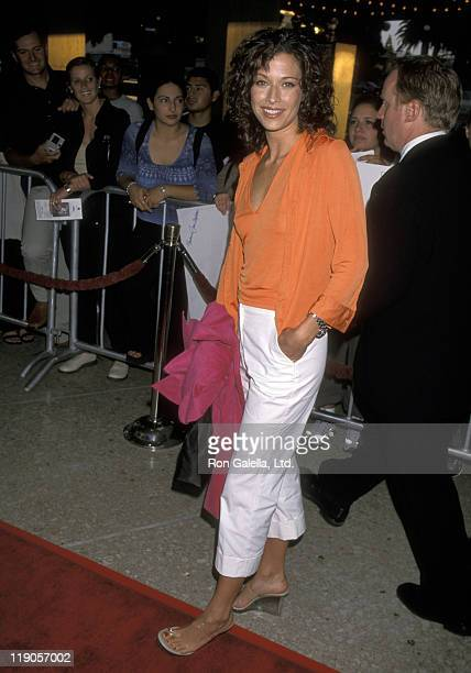 Actor Brooke Langton attending the premiere of The Cell on August 17 2000 at the Cineplex Odeon Cinema in Century City California
