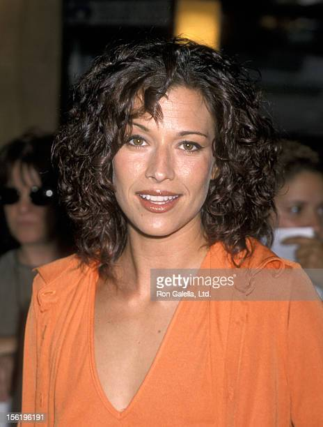 Actor Brooke Langton attending the premiere of 'The Cell' on August 17 2000 at the Cineplex Odeon Cinema in Century City California