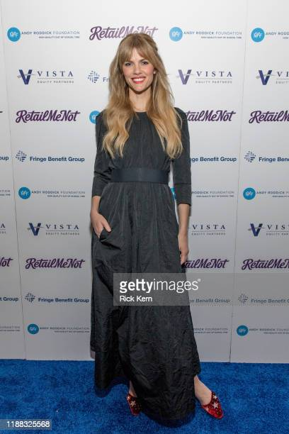 Actor Brooklyn Decker attends the 14th Annual Andy Roddick Foundation Gala at ACL Live on November 17 2019 in Austin Texas