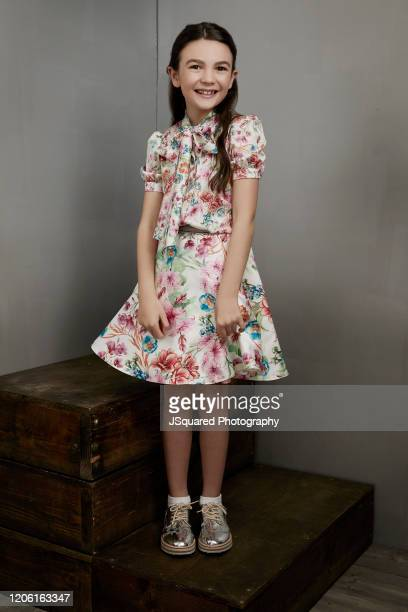Actor Brooklynn Prince of Apple TV's Home Before Dark poses for a portrait during the 2020 Winter TCA Portrait Studio at The Langham Huntington...