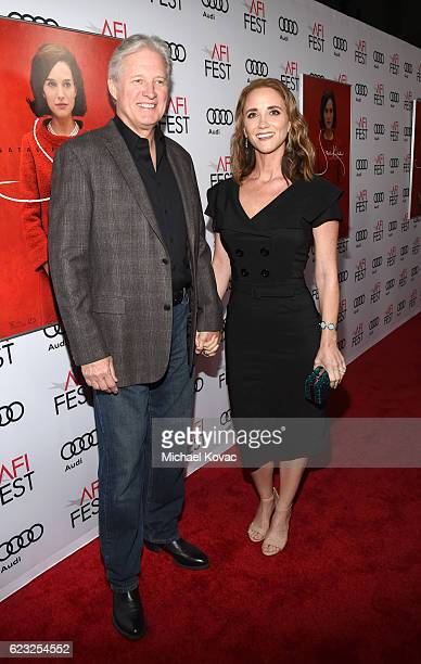 Actor Bruce Boxleitner and Verena King attend the premiere of 'Jackie' at AFI Fest 2016 presented by Audi at The Chinese Theatre on November 14 2016...