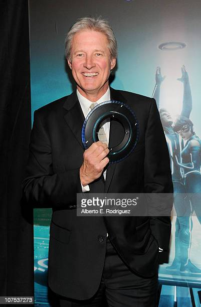Actor Bruce Boxleitner arrives at Walt Disney's TRON Legacy premiere held at the El Capitan Theatre on December 11 2010 in Los Angeles California