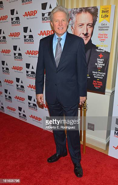 Actor Bruce Boxleitner arrives to AARP The Magazine's 12th Annual Movies for Grownups Awards Luncheon at Peninsula Hotel on February 12 2013 in...
