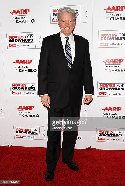Actor Bruce Boxleitner attends the 15th annual Movies For Grownups Awards at the Beverly Wilshire Four Seasons Hotel on February 8 2016 in Beverly...