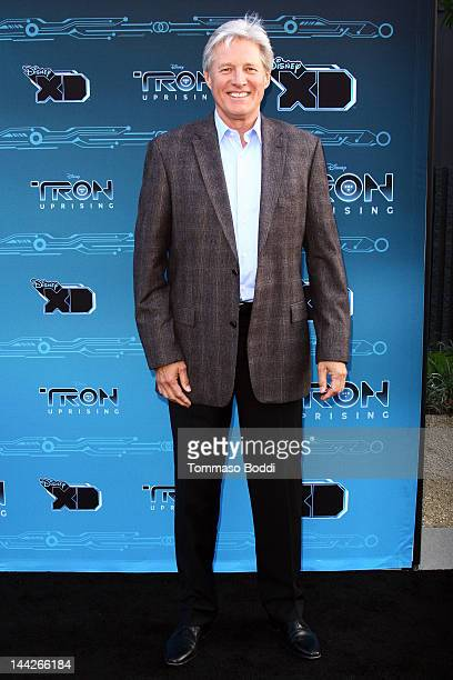 Actor Bruce Boxleitner attends the Disney XD's TRON Uprising press event and reception held at the DisneyToon Studios on May 12 2012 in Glendale...