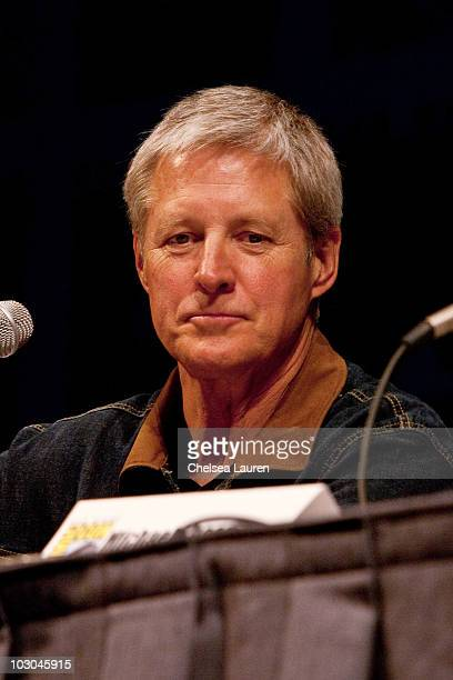 Actor Bruce Boxleitner attends the TRON Legacy panel on day 1 of ComicCon International at San Diego Convention Center on July 22 2010 in San Diego...
