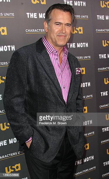 "Actor Bruce Campbell attends the USA Network's and The Moth's Storytelling Tour ""A More Perfect Union: Stories of Prejudice and Power"" at the Pacific..."