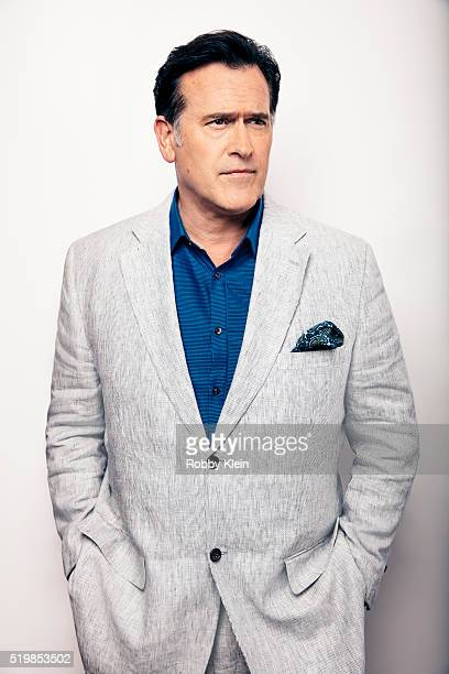 Actor Bruce Campbell is photographed at the 2015 Summer TCAs for or The Wrap on August 6, 2015 in Hollywood, California.