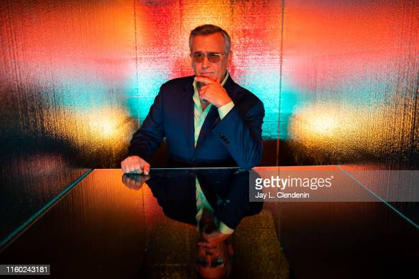 Actor Bruce Campbell of 'Ripleys Believe It or Not!' is photographed for Los Angeles Times at Comic-Con International on July 20, 2019 in San Diego,...