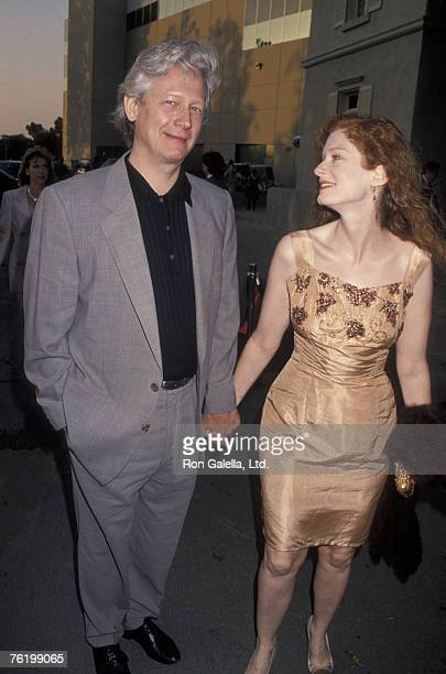 Actor Bruce Davison and wife attending Thematic Multiplex KickOff Party on July 7 1994 at Universal Studios in Universal City California
