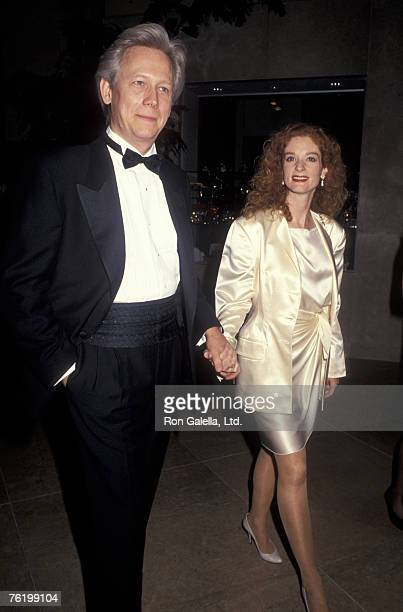 Actor Bruce Davison and wife Lisa Pelikan attending 41st Annual Eddie Awards on March 9m 1991 at the Beverly Hilton Hotel in Beverly Hills California