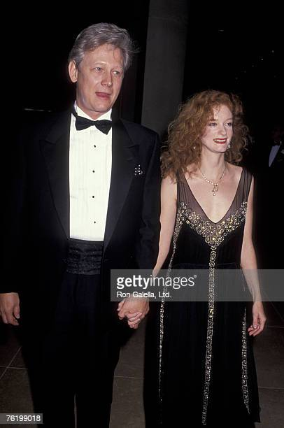 Actor Bruce Davison and wife Lisa Pelikan attending 48th Annual Golden Globe Awards on January 19 1991 at the Beverly Hilton Hotel in Beverly Hills...