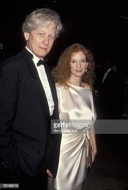 Actor Bruce Davison and wife Lisa Pelikan attending Fourth Annual GLAAD Media Awards on March 20 1993 at the Beverly Hilton Hotel in Beverly Hills...