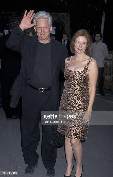 Actor Bruce Davison and wife Lisa Pelikan attending the Los Angeles premiere of Band of Brothers on August 29 2001 at the Hollywood Bowl in Hollywood...