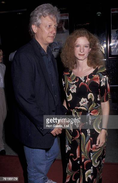 Actor Bruce Davison and wife Lisa Pelikan attending the premiere of The Playboys on April 28 1992 at Mann Criterion Theater in Santa Monica California