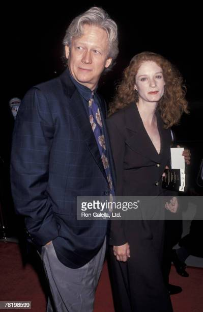 Actor Bruce Davison and wife Lisa Pelikan attending The Remains Of Day on October 25 1993 at the Academy Theater in Beverly Hills California