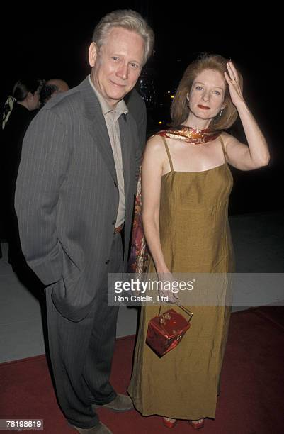 Actor Bruce Davison and wife Lisa Pelikan attending the screening of Apt Pupil on October 6 1998 at the Academy Theater in Beverly Hills California