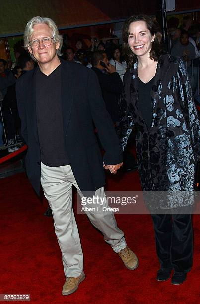 Actor Bruce Davison and wife Michele Correy arrive at the Miramax Films' Los Angeles Premiere of No Country For Old Men at the El Capitan Theater in...