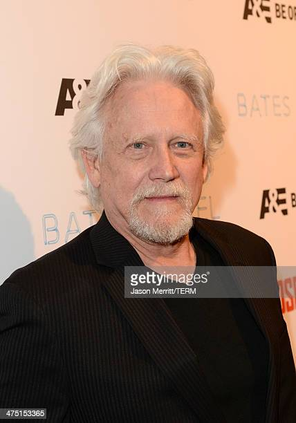Actor Bruce Davison attends AE's Bates Motel and Those Who Kill Premiere Party at Warwick on February 26 2014 in Hollywood California