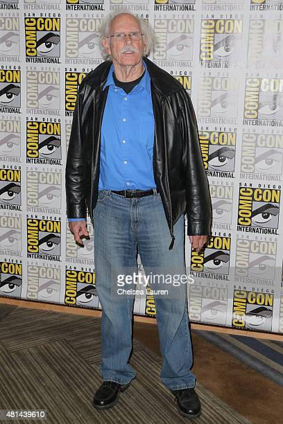 Actor Bruce Dern attends 'The Hateful Eight' press room on July 11 2015 in San Diego California