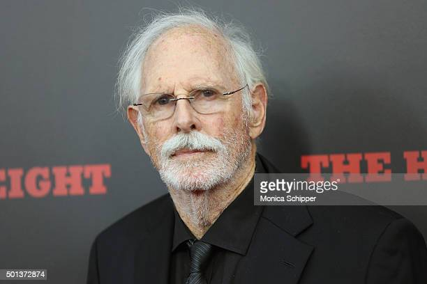 Actor Bruce Dern attends the The New York Premiere Of The Hateful Eight on December 14 2015 in New York City