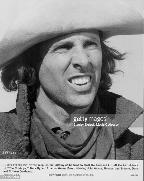 Actor Bruce Dern in a scene from the movie 'The Cowboys' 1972