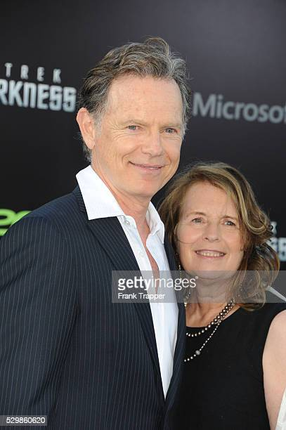 Actor Bruce Greenwood and guest Susan Devlin arrive at the premiere of Star Trek Into Darkness held at the Dolby Theater in Hollywood