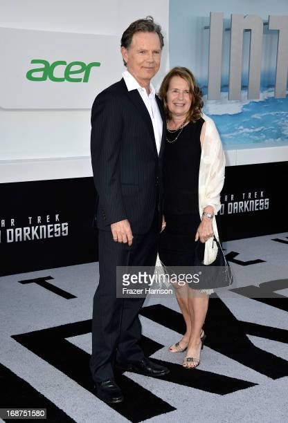 """Actor Bruce Greenwood and Susan Devlin arrive at the premiere of Paramount Pictures' """"Star Trek Into Darkness"""" at Dolby Theatre on May 14, 2013 in..."""