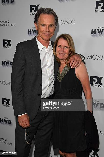 Actor Bruce Greenwood and Susan Devlin at Vanity Fair And FX's Annual Primetime Emmy Nominations Party on September 17, 2016 in Beverly Hills,...