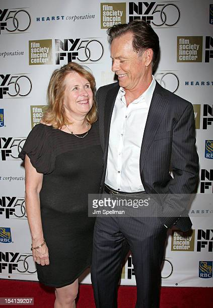 """Actor Bruce Greenwood and Susan Devlin attend the closing night gala screening of """"Flight"""" during the 50th New York Film Festival at Alice Tully Hall..."""