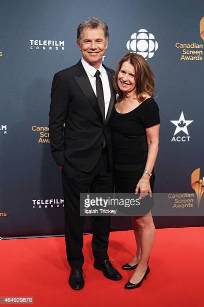 Actor Bruce Greenwood and wife Susan Devlin arrive at the 2015 Canadian Screen Awards at the Four Seasons Centre for the Performing Arts on March 1...