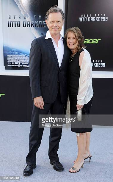 """Actor Bruce Greenwood and wife Susan Devlin arrive at the Los Angeles premiere of """"Star Trek: Into Darkness"""" at Dolby Theatre on May 14, 2013 in..."""