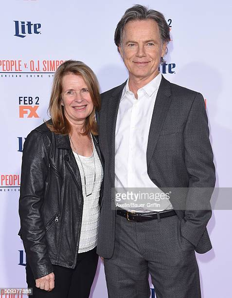 Actor Bruce Greenwood and wife Susan Devlin arrive at the premiere of 'FX's 'American Crime Story The People V OJ Simpson' at Westwood Village...